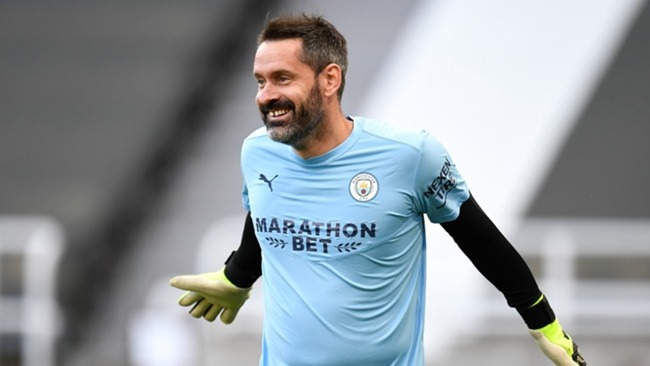 Scott Carson has signed a one-year contract at Man City
