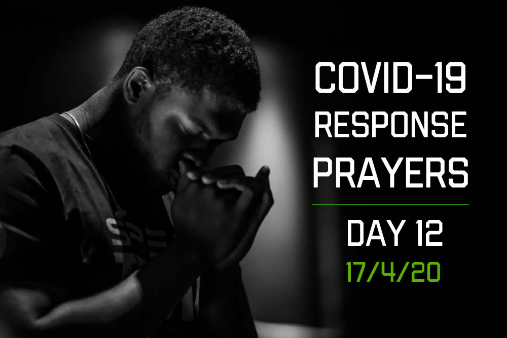 COVID-19 Response Prayers – Day 12