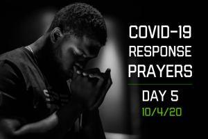 COVID-19 Response Prayers – Day 5