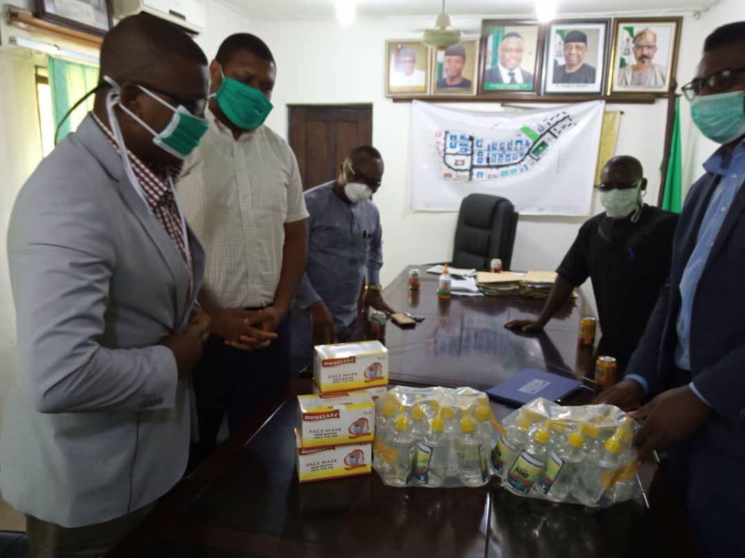 CMDA Abia State, Cross Rivers State, and Oyo State Chapters, donate various protective materials against the spread of COVID 19.