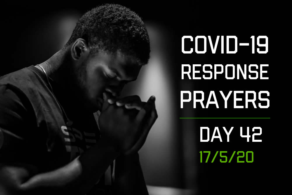 COVID-19 Response Prayers – Day 42