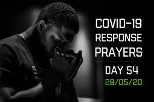 COVID-19 Response Prayers – Day 54
