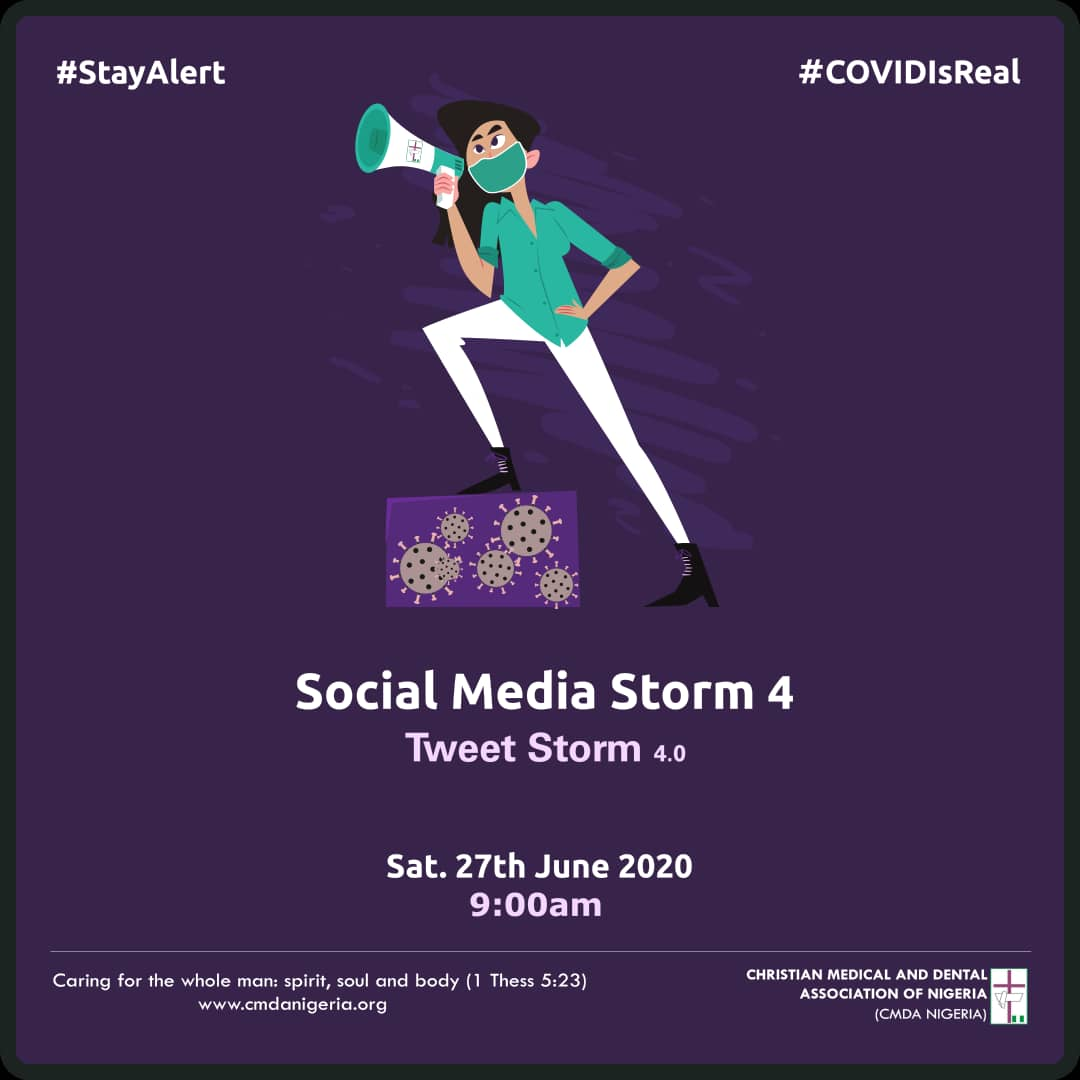 Social Media Engagement To Encourage People To Stay Alert, COVID-19 Is Real