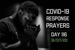 COVID-19 Response Prayers – Day 116