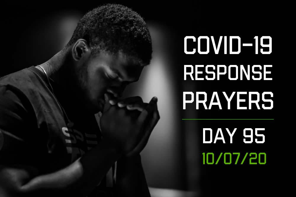 COVID-19 Response Prayers – Day 95