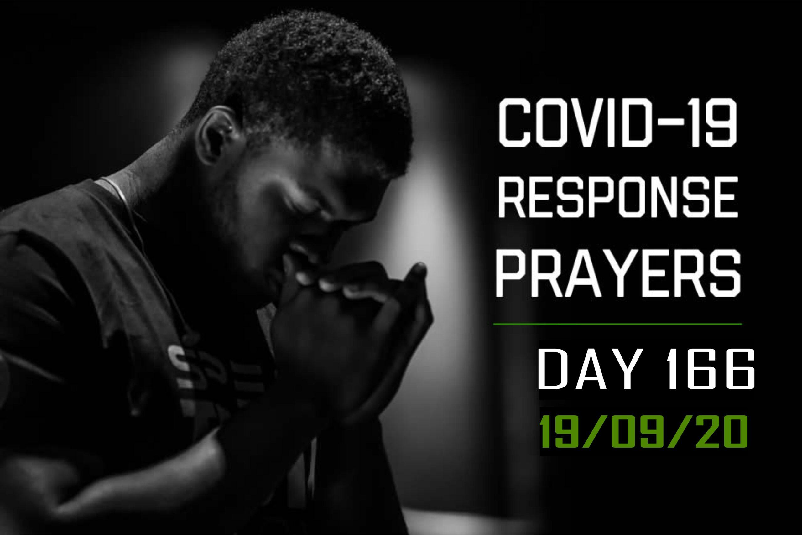 COVID-19 Response Prayers Day – 166
