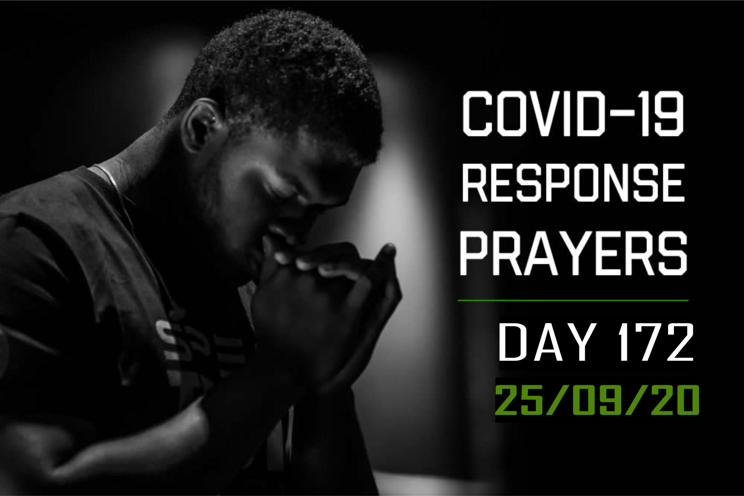 COVID-19 Response Prayers Day – 172