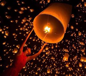 Loy Kratong - Photo Fortune Thailand travel 2