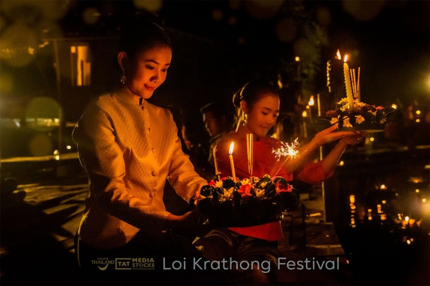 Loi Krathong - Yipeng 2019 - Photo TAT Photograph Section 2