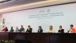 Presentan Semblanza de Rosendo Radilla Pacheco en cumplimiento con la Corte Interamericana