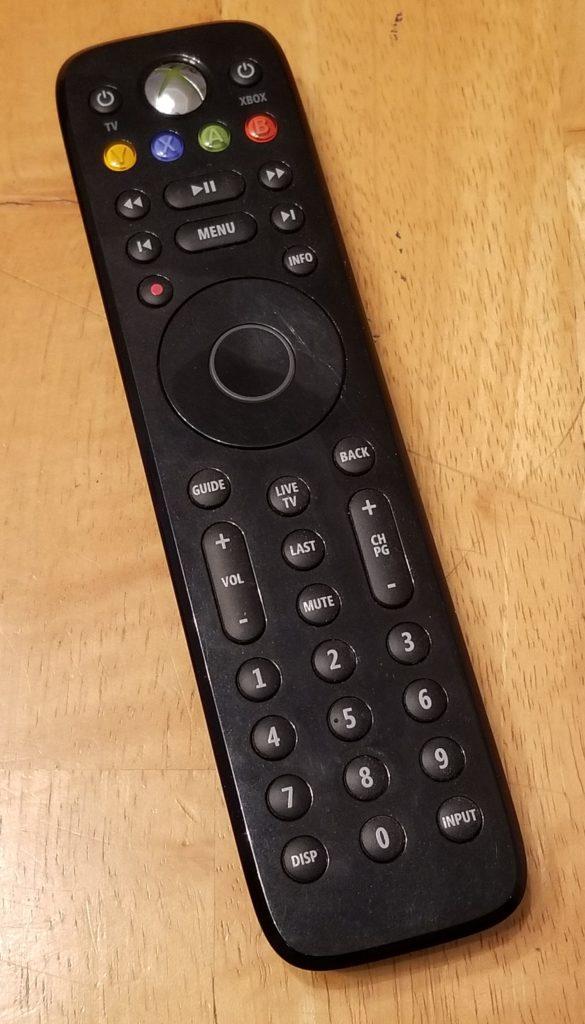 $10 - Xbox 360 Media Remote (IR)