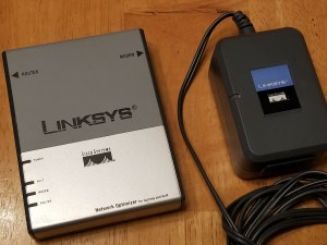 $5 - Cisco Linksys Network Optimizer for Gaming and VoIP