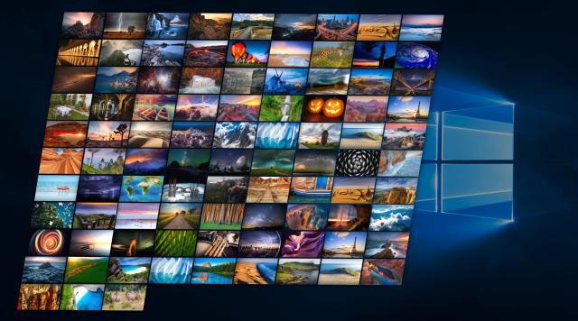 Use Windows Spotlight as Desktop Wallpaper Slideshow