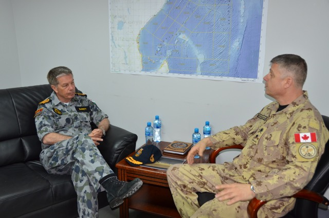 Australias Chief of Navy visits Combined Task Force 150  Combined Maritime Forces CMF