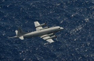 The Royal New Zealand Air Force MPA conducts patrols searching for dhows