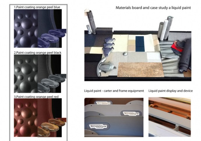 Mood materials and reasearch colors paint