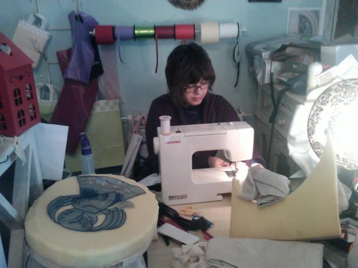 Gabriella Giusti e il momento creativo