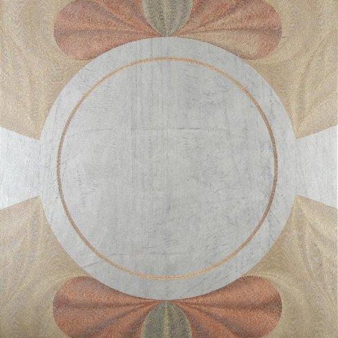 Axis Mundi: acrylic injection painting su tela 2008 - 80x80cm
