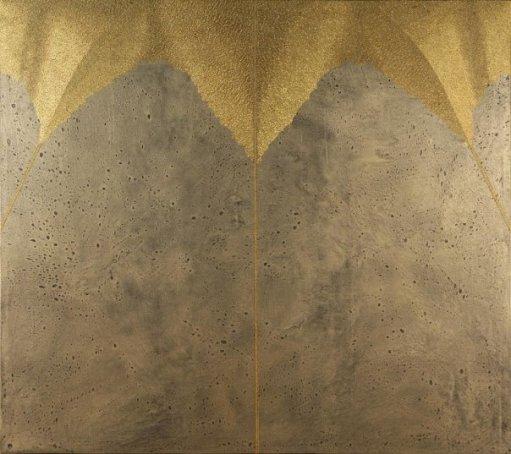 Generazione: acrilico injection painting su tela 2006 - 100x110cm