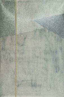 Luna: acrilico injection painting su tela 2006 - 60x40 cm