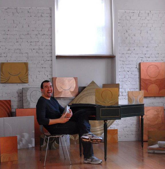 Marcello De Angelis e la pittura in siringa