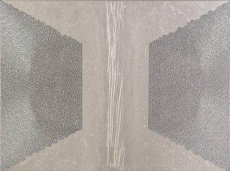 Riflessione: acrilico injection painting su tela 2006 - 45x60cm