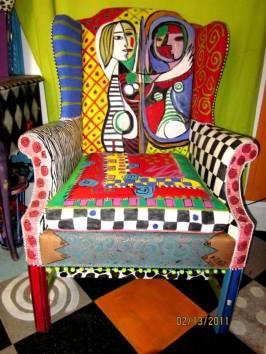 Picasso fotel