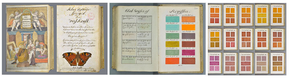 Years Before Pantone Forecastingirl - This 800 page book listed every colour imaginable 271 years before pantone