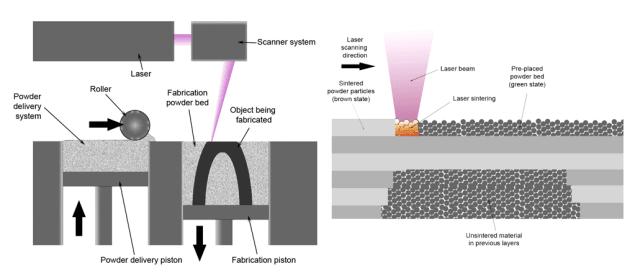 powder bed fusion process