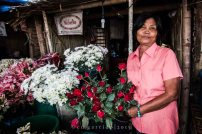Manang Nida has been in the flower business for 45 years.