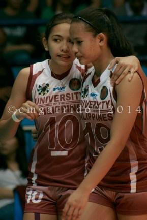 Tiamzon giving pointers to Alinas