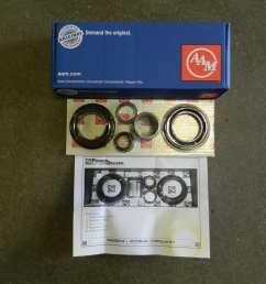 aam 10 5 rear differential pinion yoke seal sleeve kit 1999 dodge 2003 ram 2500 [ 1280 x 960 Pixel ]