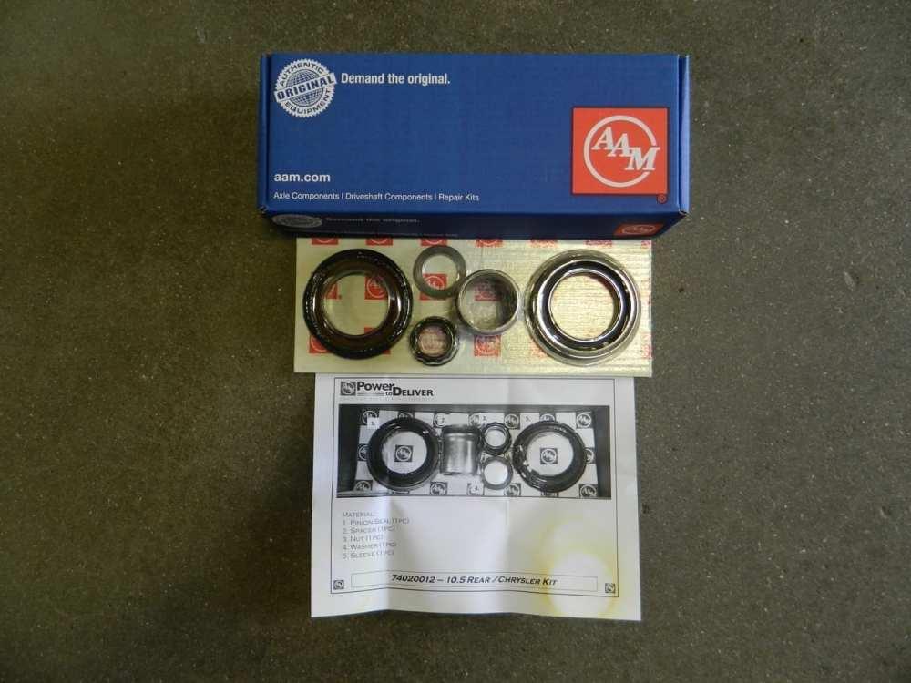 medium resolution of aam 10 5 rear differential pinion yoke seal sleeve kit 1999 dodge 2003 ram 2500