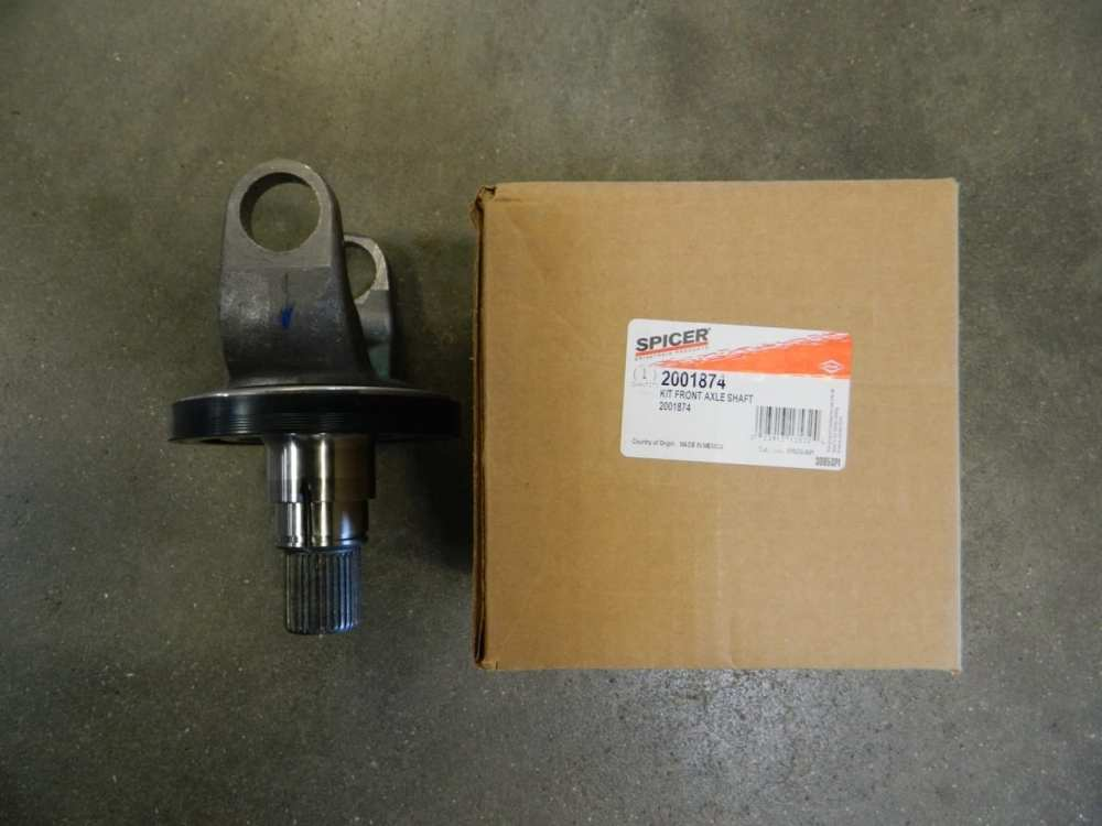 medium resolution of outer stub axle shaft dana 60 2005 2011 ford super duty s60 4x4 front f450