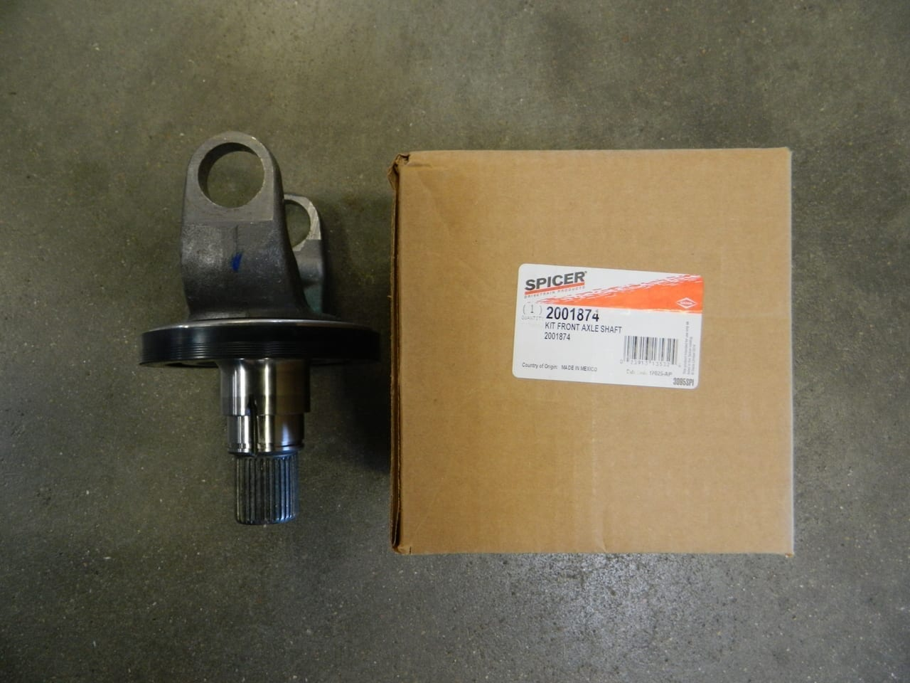 hight resolution of outer stub axle shaft dana 60 2005 2011 ford super duty s60 4x4 front f450