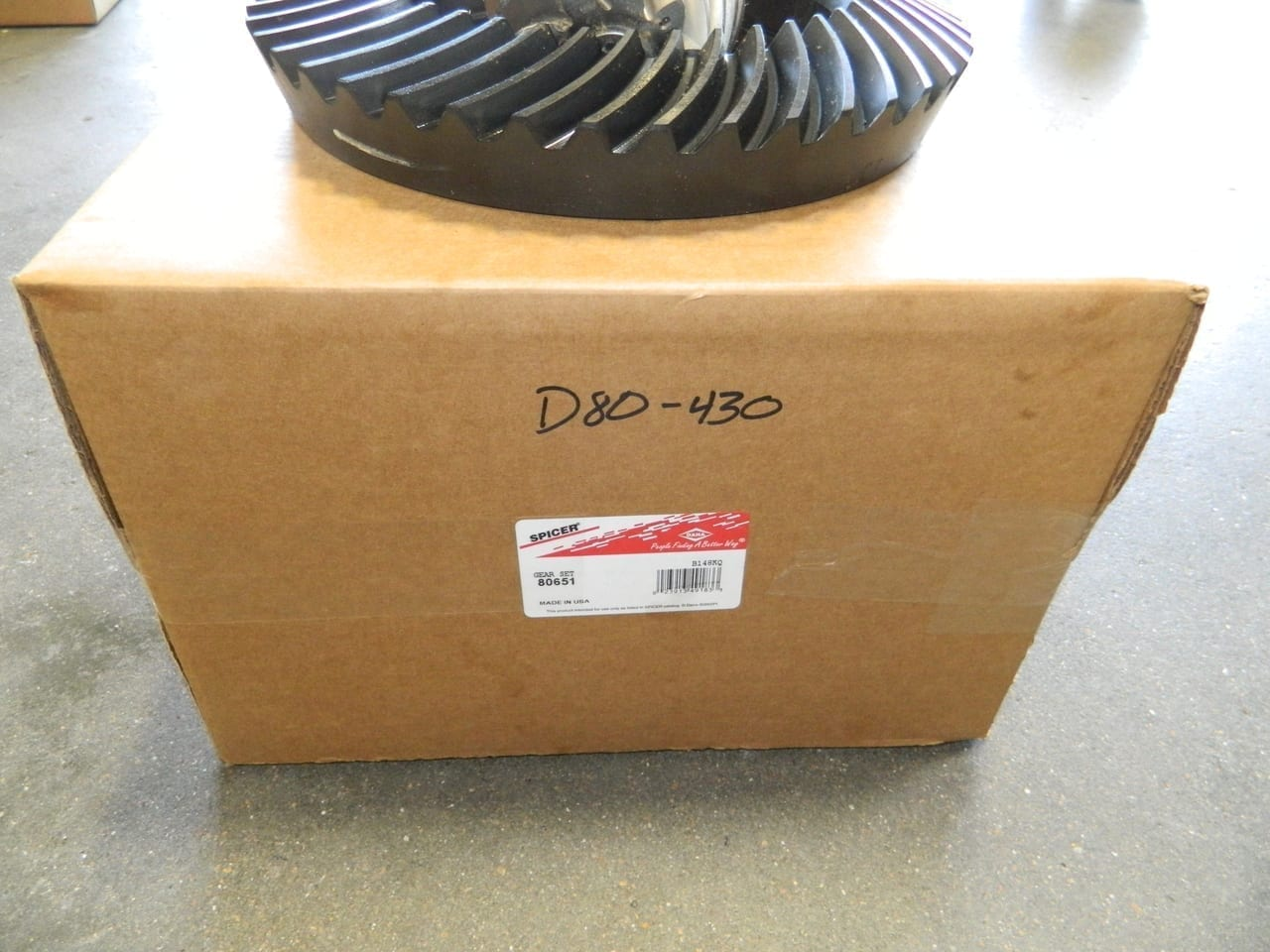hight resolution of genuine dana 80 4 30 ring gear pinion set chevy ford dodge 430 made
