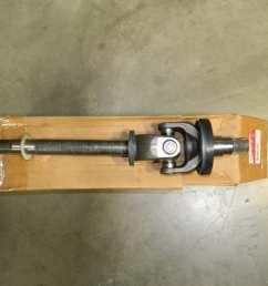 dana spicer left 4x4 front axle shaft ford 60 f450 f550 2004 2005 2006 2007 [ 1280 x 960 Pixel ]