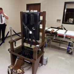 Florida Electric Chair Padded Folding Lawn Chairs Man Smiles Says Let S Rock Before Dying In Fox23 File This Oct 13 1999 Photo Ricky Bell The Warden At Riverbend Maximum Security Institution Nashville Tenn Gives A Tour Of Prison