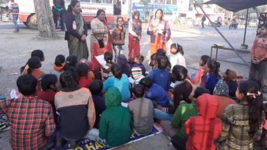 Photo of बच्चों को इम्प्रैशन का महत्व बताया-बेटियां फाउंडेशन