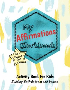 Affirmations for kids workbook