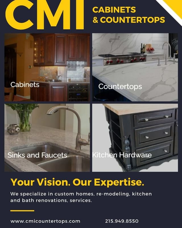 About CMI Cabinets and Countertops