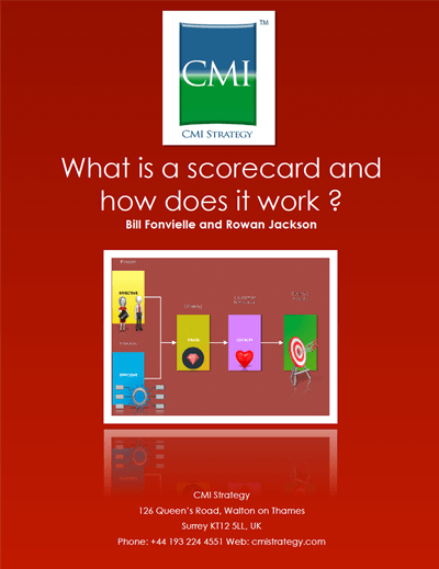 CMI Strategy - The Dynamic Scorecard