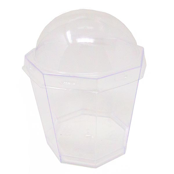 Empty Large Catering Cup With Lid