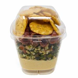 Tall Appetizer Snack Pack Cup With Lid