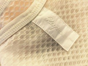 Base layers: detail from Rapha's mesh base layer