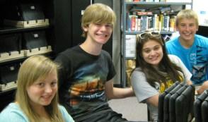 Becker High School Tech Squad Representatives