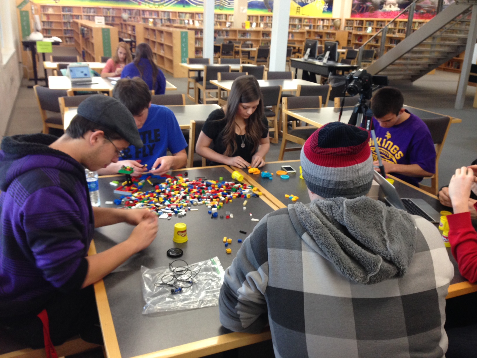 Local High School Library Launches Makerspace Programming