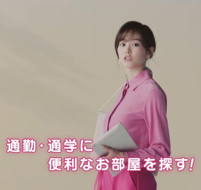 桐谷美玲 ホームメイト CM
