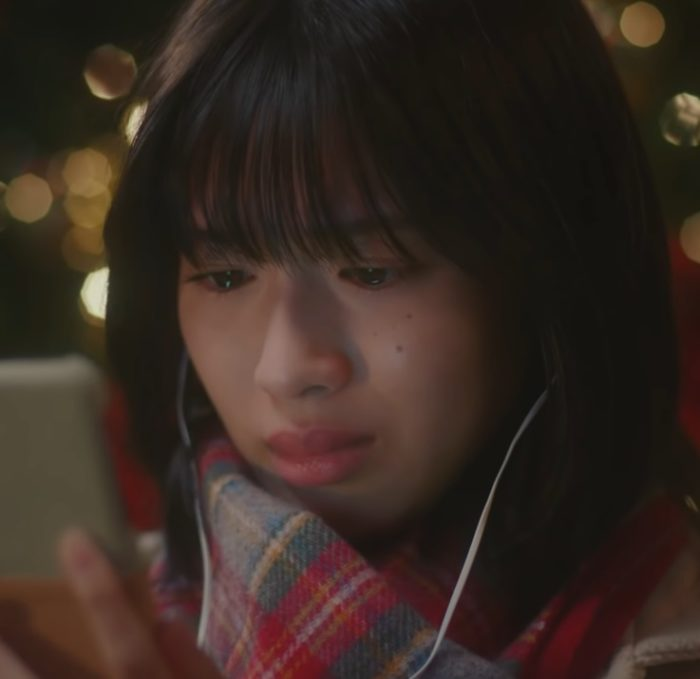 白石聖 Line Music CM