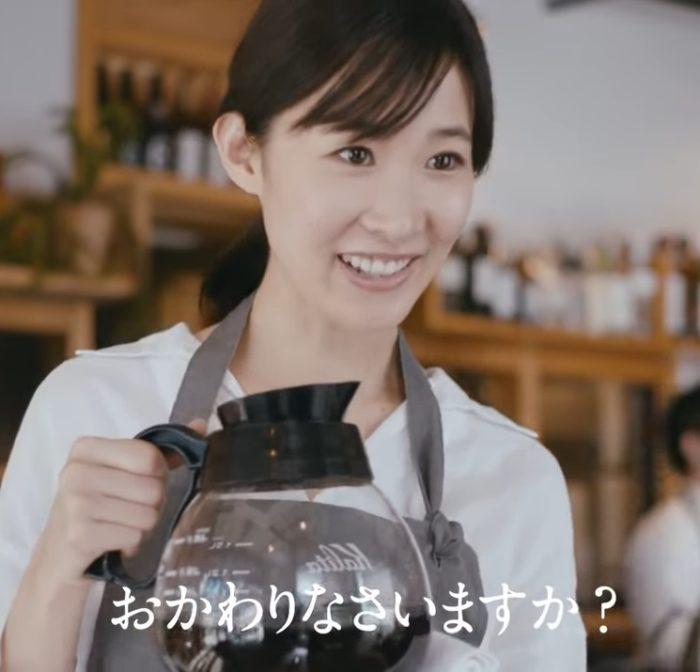 吉田友利恵 JAL CM